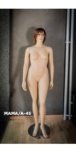 female realistic mannequins with wigs